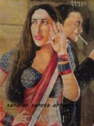 Blockbuster Art - Chameli by Sandeep Kumar Sahota