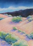 New Mexico Pastels Originals - Chamisa by Jo Thompson