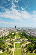 Champ De Mars Prints - Champ De Mars Print by Matthew Crowley Photography