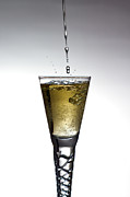 Fill Posters - Champagne Poster by Gert Lavsen