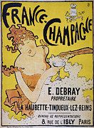 Champagne Poster, 1891 Print by Granger