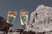 Champagne Wish Print by Angie Wingerd