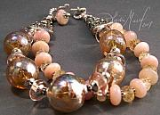 Food And Beverage Jewelry - Champagne Wishes Bracelet by Lydia Muell