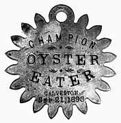 Oyster Art - Champion Oyster Eater by Granger