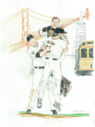 Baseball Originals - Championship by The Bay by Phil  King