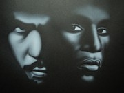 Sports Legends Paintings - Champs by Charles Thomas