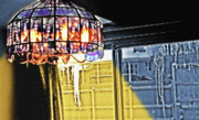 Wintry Digital Art Prints - Chandelier - Warm Glow Print by Steve Ohlsen