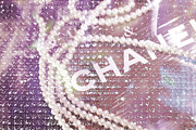 Pearls Art - Chanel2 by Lisa Eryn