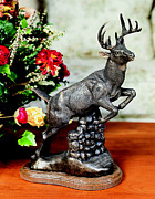 Deer Sculpture Originals - Changin Country by Rudl Mergelman