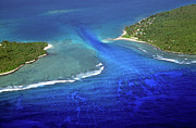 Pele Photos - Channel between Pele and Nguna islands surrounded by tropical sea by Sami Sarkis