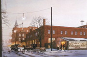 Delivery Truck Paintings - Chanpagne Velvet Brewery by C Robert Follett
