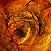 Swirl Digital Art - Chaos by Scott Norris