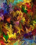 Decorative - Chaotic Canvas by David Lane