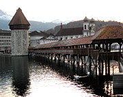Lucerne Originals - Chapel Bridge by Kathy Whitehead
