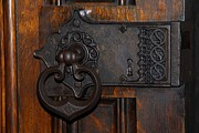 Barks Prints - Chapel Door Print by Cindy Manero