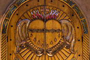 New Mexico Photos - Chapel Doors by Carol Leigh