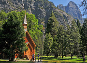 Lynn Bauer Photography Posters - Chapel in the Valley Poster by Lynn Bauer