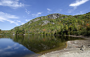 """adirondack Park""  Photo Posters - Chapel Pond in the Adirondack Mountains - New York Poster by Brendan Reals"