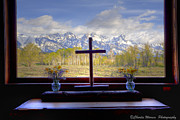 Chapel With A View Print by Charles Warren
