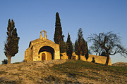 Church Photos Prints - Chapelle dEygalieres en Provence. Print by Bernard Jaubert