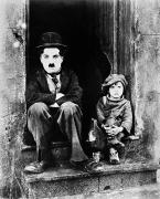 Film Still Framed Prints - Chaplin: The Kid, 1921 Framed Print by Granger