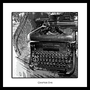 Typewriter Keys Digital Art - Chapter One by Monroe Snook