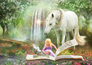 Pony Digital Art - Chapters by Trudi Simmonds