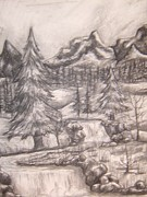 Natasha  Malpeli - Charcoal Mountains