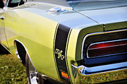 Mopar Metal Prints - Charger R-T Metal Print by Thomas Schoeller