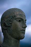 Greek Sculpture Posters - Charioteer Of Delphi Poster by Photo Researchers