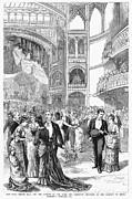 Charity Ball, 1880 Print by Granger