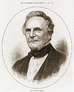British Portraits Posters - Charles Babbage 1792-1871 English Poster by Everett