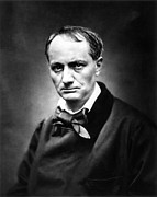 Charles Baudelaire Framed Prints - Charles Baudelaire Framed Print by Granger