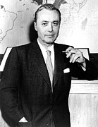 Suave Prints - Charles Boyer, 1950s Print by Everett