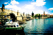 Charles Bridge Photo Framed Prints - Charles Bridge Framed Print by Brittany Spitler
