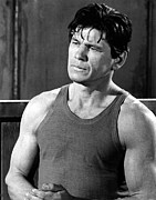Sleeveless Posters - Charles Bronson Poster by Everett