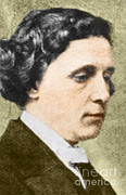 Lewis Carroll Posters - Charles Dodgson Aka Lewis Carroll Poster by Science Source