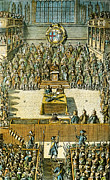 Trial Art - Charles I On Trial by Granger