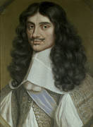Ireland Paintings - Charles II by Wallerant Vaillant
