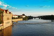 Charles Bridge Originals - Charles or Carls Bridge View in Prague by Evgeny Ivanov