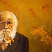 Origin Prints - Charles R. Darwin Print by Eric Dee