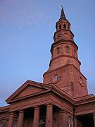 South Carolina Prints - Charleston at Dusk Print by Staci-Jill Burnley
