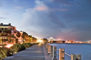 Night Photos - Charleston Battery Photography by Dustin K Ryan