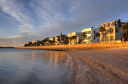 Wide Originals - Charleston Battery Row Sunrise by Dustin K Ryan