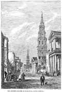 Charleston: Church, 1861 Print by Granger