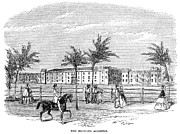 Campus Life Prints - Charleston: Citadel, 1857, Print by Granger