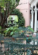 Charleston Dining Print by Suzanne Gaff