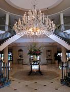 Charleston Hotel Lobby Print by Pat Exum