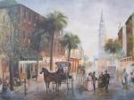 Charleston Painting Posters - Charleston Somewhere in Time Poster by Charles Roy Smith