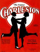 Roaring Twenties Posters - Charleston Songsheet Cover Poster by Granger